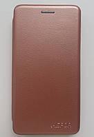 Чехол-книжка Luxo Leather Huawei Y7 Prime 2018 / Honor 7C (Rose gold) , фото 1