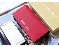 Женский красный кошелек в стиле Michael Kors (497), фото 1