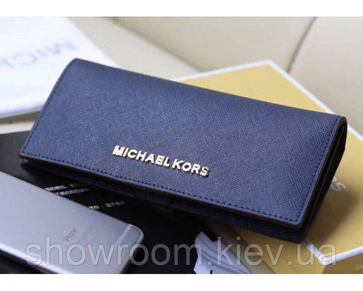 Женский синий кошелек в стиле Michael Kors (497)