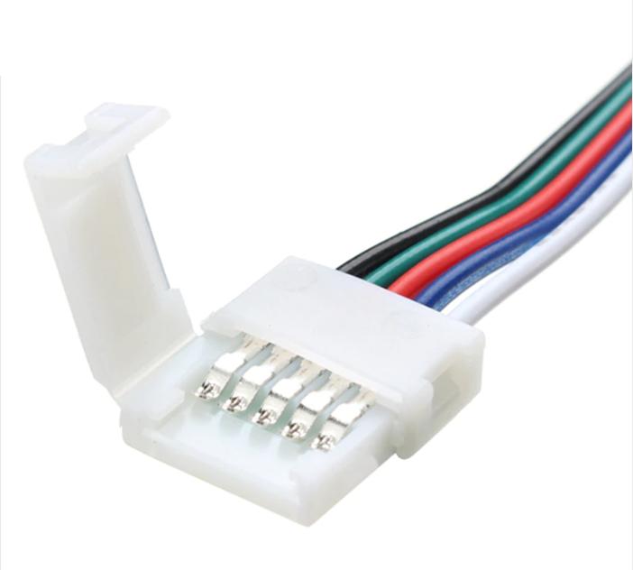 Коннектор для светодиодных лент OEM SC-21-SW-12-5 10mm RGBW joint wire (провод-зажим)