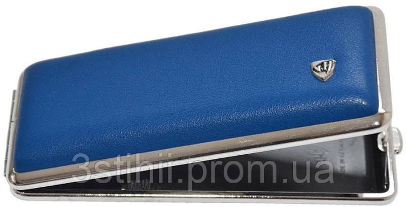 Портсигар VH 904354 для 8 KS/12 Super KS сигарет кожа Синий, фото 2