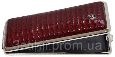 Портсигар VH 904338 для 8 KS/12 Super KS сигарет кожа Бордовый