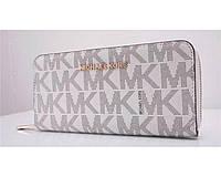 Женский брендовый кошелек в стиле Michael Kors (318) белый, фото 1