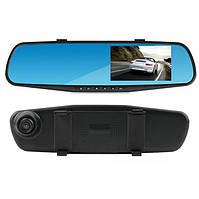 Видеорегистратор зеркало с камерой заднего вида DVR A1