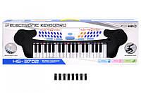 Детский синтезатор с микрофоном HS3702A, пианино