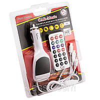 FM-модулятор универсальный A3 8in1 USB,AUX,Micro SD,Micro USB,iPhone