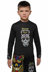 Рашгард BERSERK CROSS SKULL KIDS black