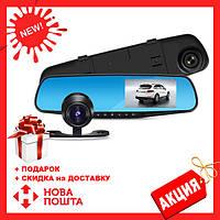 Автомобильный Видеорегистратор зеркало DVR 138, видеорегистратор, 1 камера