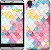 "Чехол на HTC Desire 530 Красочная черепица ""3703c-613-16423"""