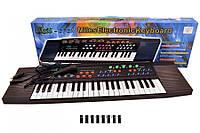 Детский синтезатор с микрофоном SK 3738, пианино