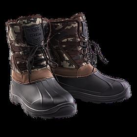Чоловічі зимові чоботи комбіновані Dago Alaska. Мужские резиновые зимние  сапоги  продажа a5b08a187b8dd