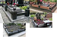 Оградка на кладбище гранитная