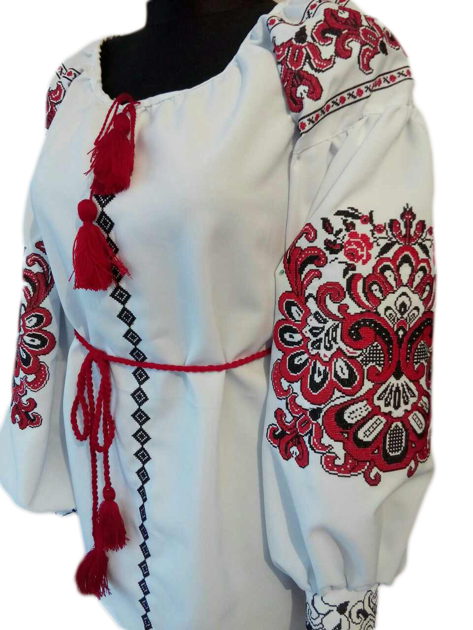 "Женская вышитая рубашка ""Завана"" BU-0037"