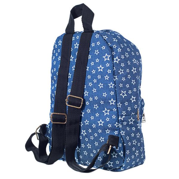 Рюкзак женский  Mayers  молодежный с принтом Звезды и логотипом, 7.5 л, фото 3