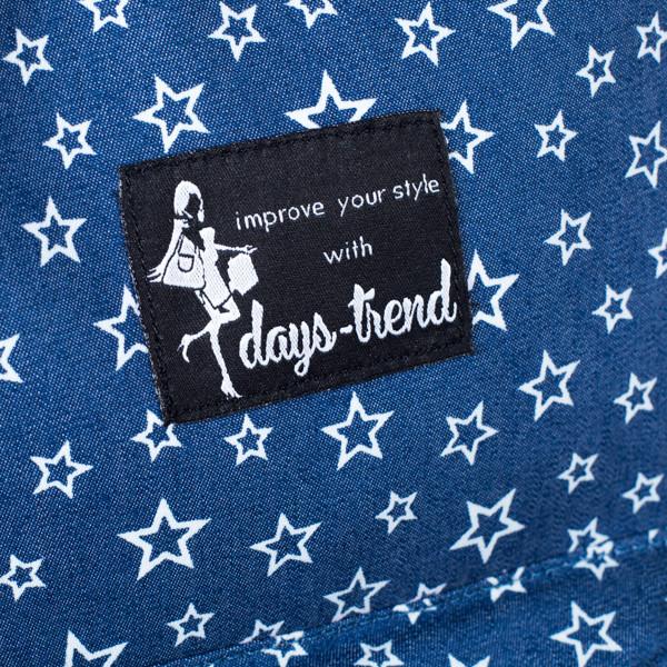 Рюкзак женский  Mayers  молодежный с принтом Звезды и логотипом, 7.5 л, фото 6