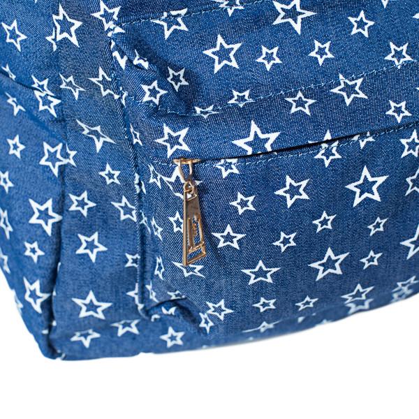Рюкзак женский  Mayers  молодежный с принтом Звезды и логотипом, 7.5 л, фото 5