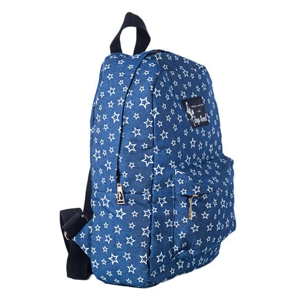 Рюкзак женский  Mayers  молодежный с принтом Звезды и логотипом, 7.5 л, фото 7