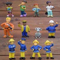 Игрушки фигурки Пожарный Сэм, Сем 12 шт