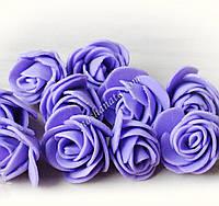 Роза латекс, сиреневая.