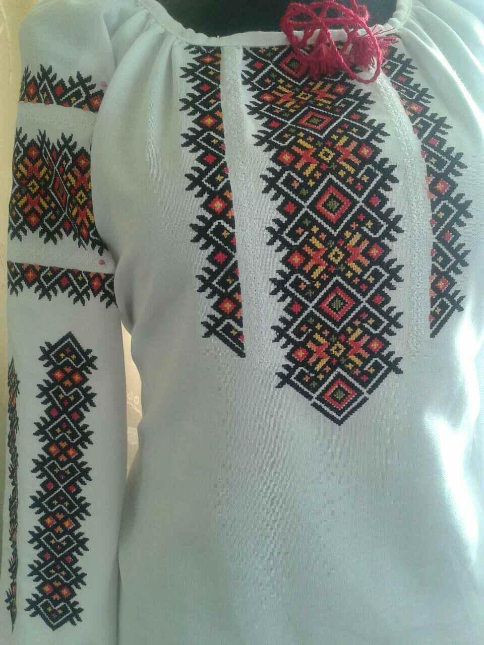 "Жіноча вишита сорочка (блузка) ""Іслін"" (Женская вышитая рубашка (блузка) ""Ислин"") BU-0042"