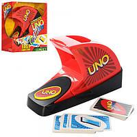 Настольная игра 0133Y, Уно, звук, свет, карты, на бат-ке, в кор-ке, 27-27-10см