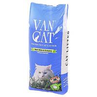Наполнитель бентонитовый Van Cat Natural 20 кг (без запаха)