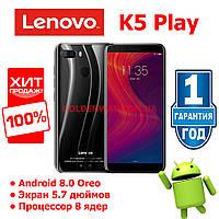 Смартфон Lenovo K5 Play 3/32gb Black Global Гарантия Цвет черный