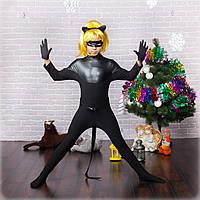 Детский костюм Супер кота/черный, фото 1