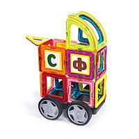 """Конструктор магнитный,развивающая игрушка, конструктор для детей """"Фантазия"""" 93 детали"""