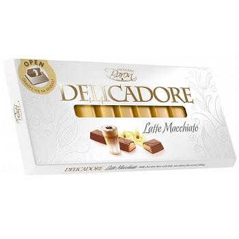 Шоколад Delicadore Latte Macchiato 200г