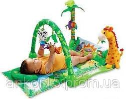 Килимок розвиваючий для дитини 3059 Джунглі