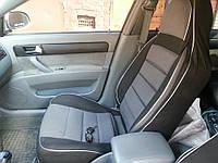 Чехлы на сиденья БМВ Е34 (BMW E34) (универсальные, автоткань, пилот)