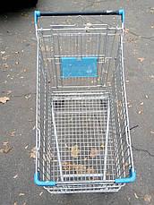Тележка покупательская б\у EL130 WANZL, торговая тележка бу, фото 3