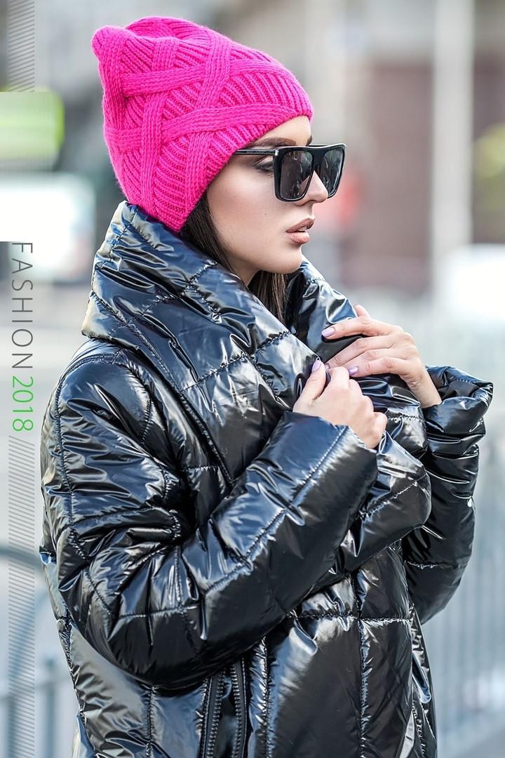 Модная шапка молодежная женская 134 в расцветках