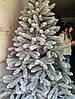 Искусственная Ель Литая 150 см Заснеженная Елка Новогодняя 1,5 метра, фото 2