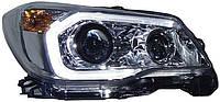 Subaru Forester SJ оптика передняя альтернативная ксеноновая 2 линзы  / HID headlights