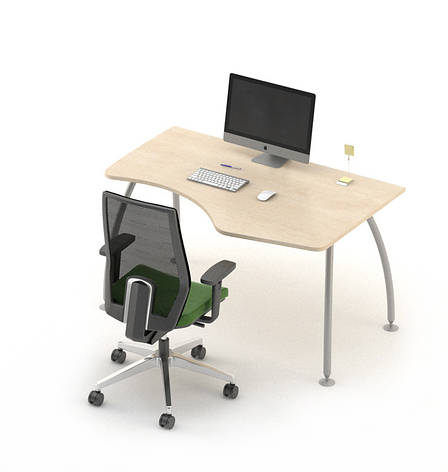 Стол угловой Техно плюс модель T1.12.12 ТМ MConcept, фото 2