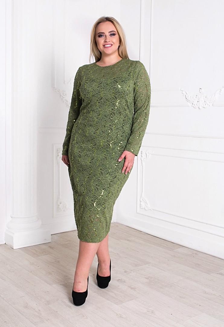22a6ac20906 Элегантное платье футляр большого размера с красивой посадкой по фигуре. -  Beatrissa-shop -