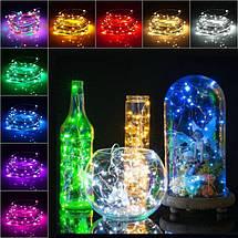 Светодиодные гирлянды на батарейках 3 метра 30 LED Цветные, фото 2