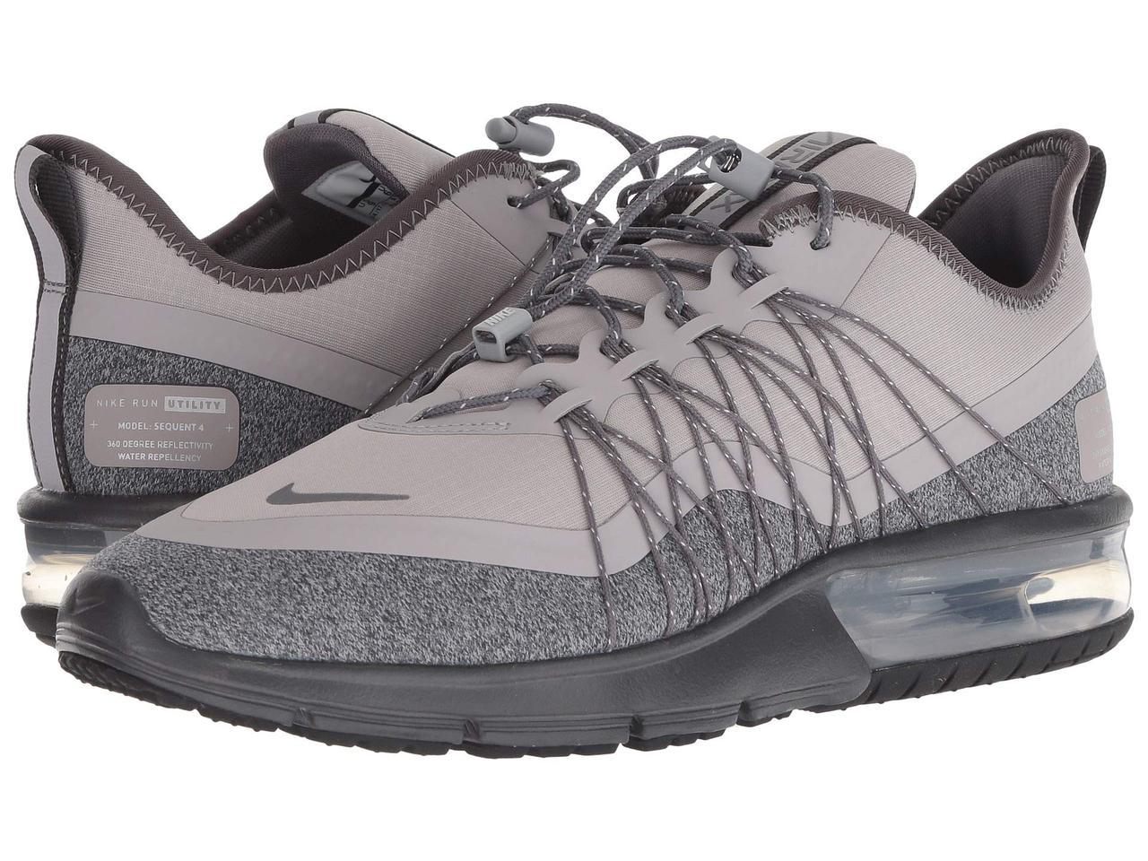 super popular 6ab31 20214 Кроссовки Кеды (Оригинал) Nike Air Max Sequent 4 Shield Atmosphere  Grey Metallic