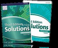 Solutions Elementary, Student's book + Workbook / Учебник + Тетрадь английского языка