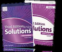Solutions Intermediate, Student's book + Workbook / Учебник + Тетрадь английского языка