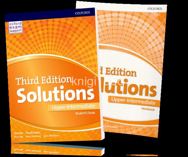Solutions upper-intermediate student's book [pdf] все для студента.
