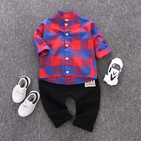 Стильный костюм двойка на мальчика рубашка и штаны  1-4 года