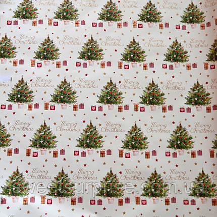 Бумага для упаковки новогодних подарков, фото 2