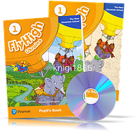 Fly High 1 New Ukrainian School, Pupil's book + Activity Book + CDs / Учебник + Тетрадь английского языка
