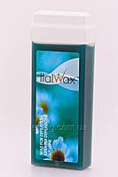 ItalWax Italwax Воск в кассетах с широким роликом  - Азулен, 100 гр
