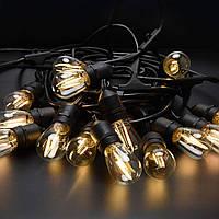 "Гирлянда Belt Light E27 ""ВИСЯЧАЯ"" (11 метров, 10 патронов) Без Ламп"