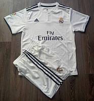 Футбольная форма Реал Мадрид белая сезон 18-19