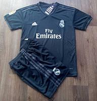 Футбольная форма Реал Мадрид черная сезон 18-19